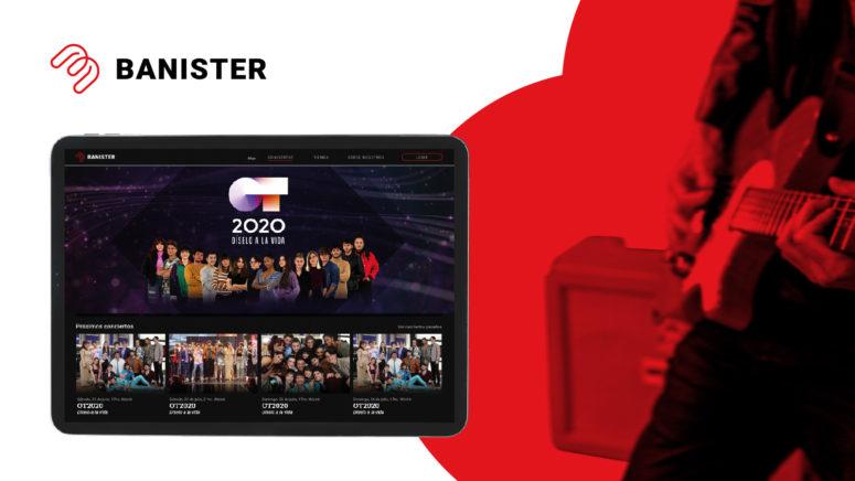 Banister Live: el canal de contenido musical en streaming de la nueva era.